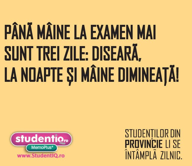 Glume studentesti