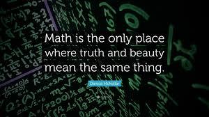 matematica si frumusetea